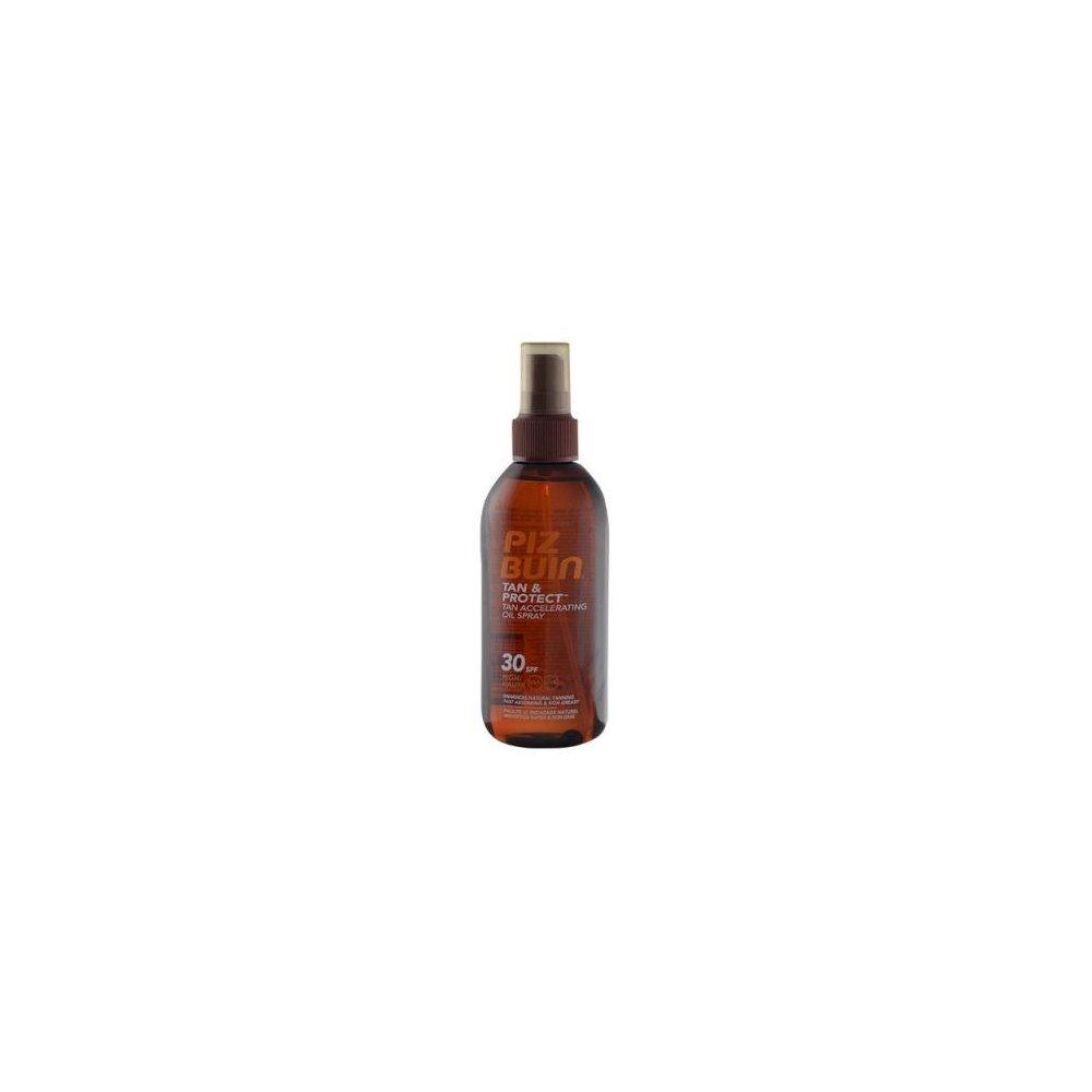 Piz Buin Tan & Protect Tan Accelerating Oil Spray SPF30 150ml Urychlovač opálení