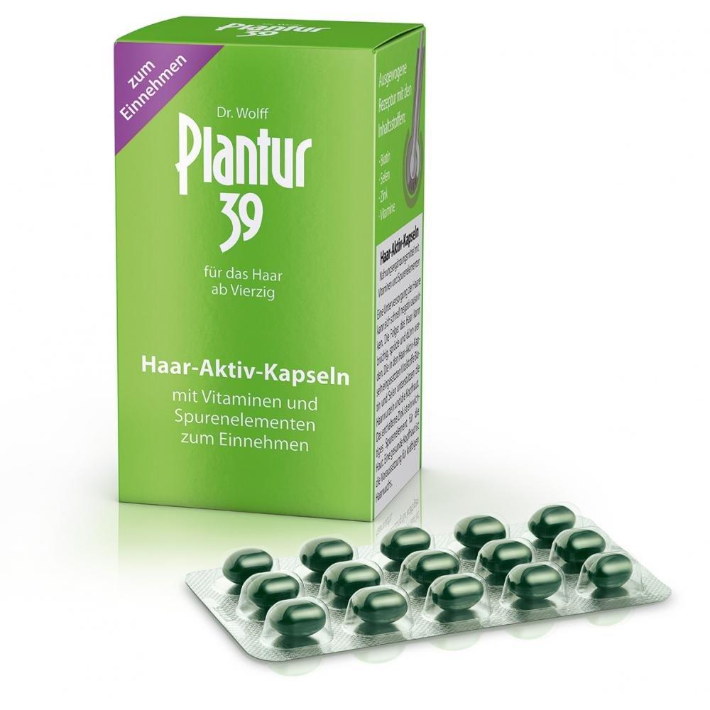 PLANTUR 39 Aktivní kapsle pro vlasy 60 kapslí