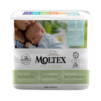 MOLTEX Pure & Nature Newborn 2-4 kg  22 ks
