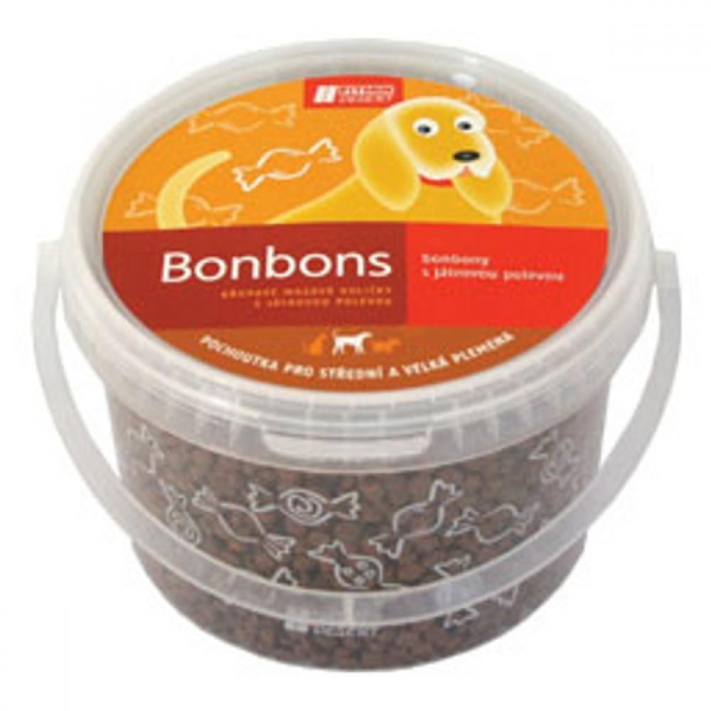 DIBAQ Pochoutka Játrové bonbony pro psi 1,5 kg