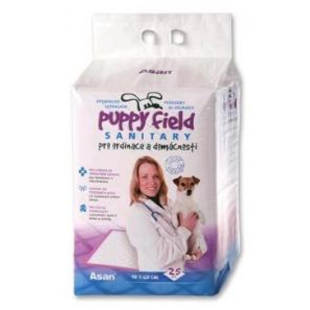 TOMMI Podložka Puppy Field Sanitary 25 ks