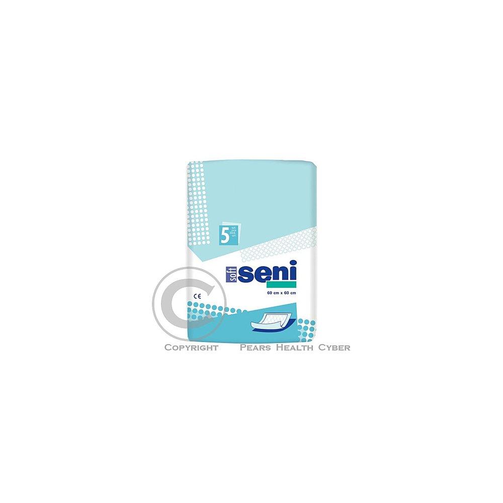 SENI SOFT Podložky absorpční 60x60cm 5ks