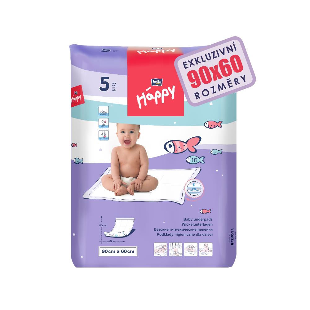 BELLA BABY Happy Podložky hygienické 5ks