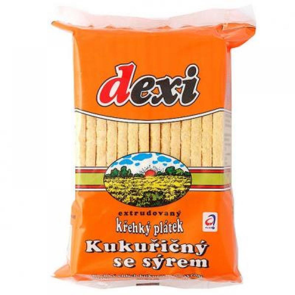 POEX Křehký plátek kukuřice - sýr 125 g