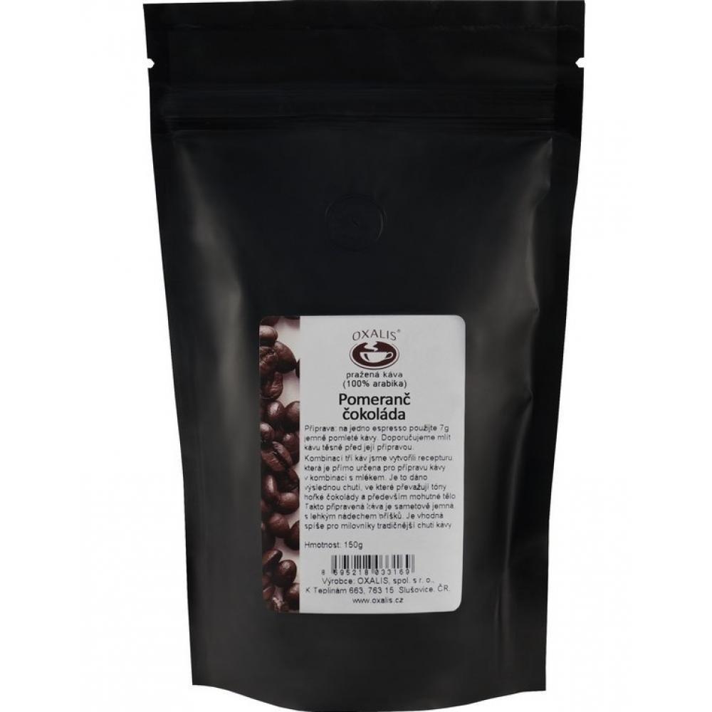 OXALIS Káva mletá Pomeranč - čokoláda 150 g