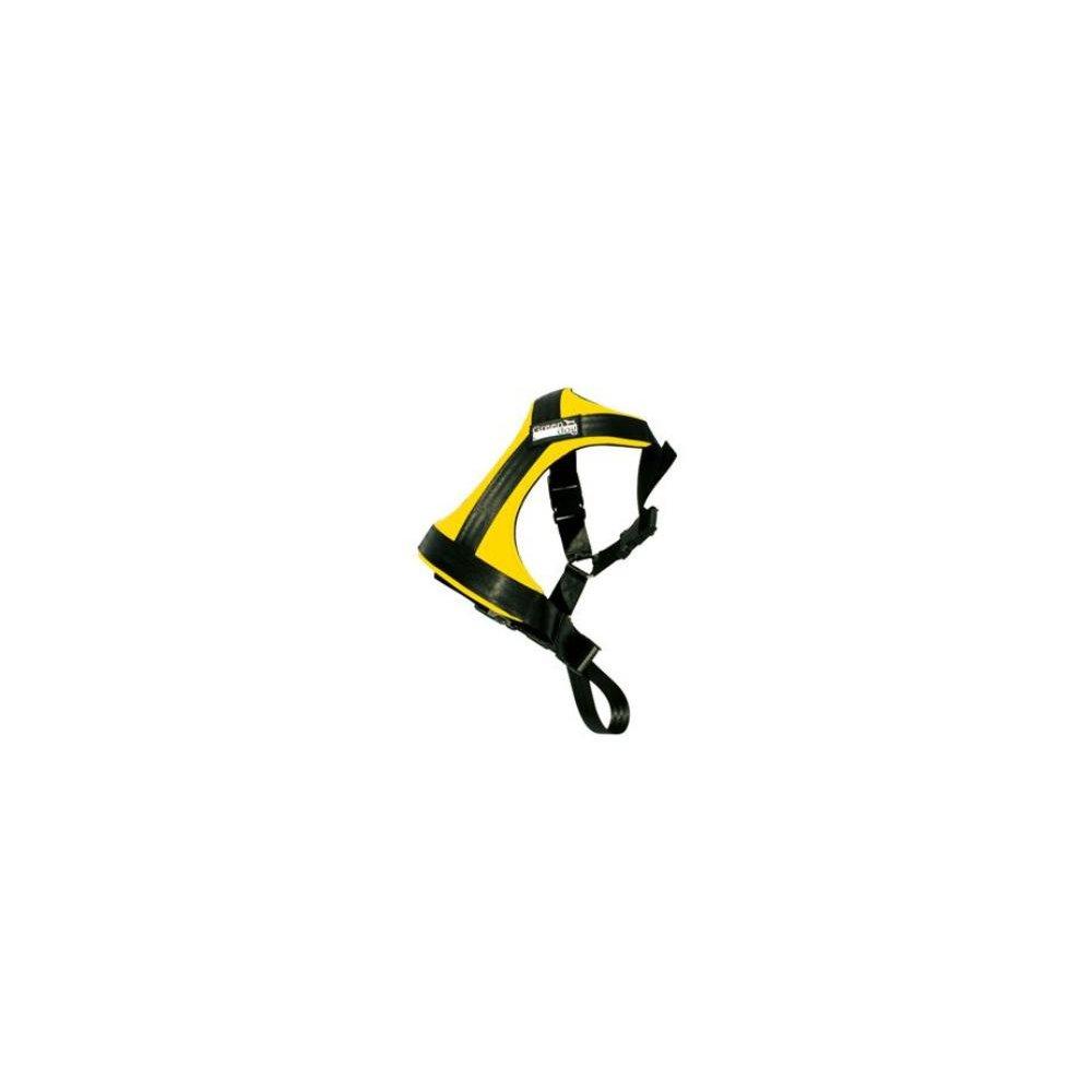 GreenDog Postroj pes Bezpečnostní do auta S žlutá