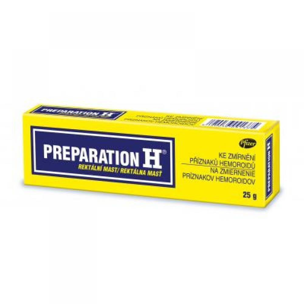 PREPARATION H 1x25 g Mast - Lékárna.cz 3f56d24b18