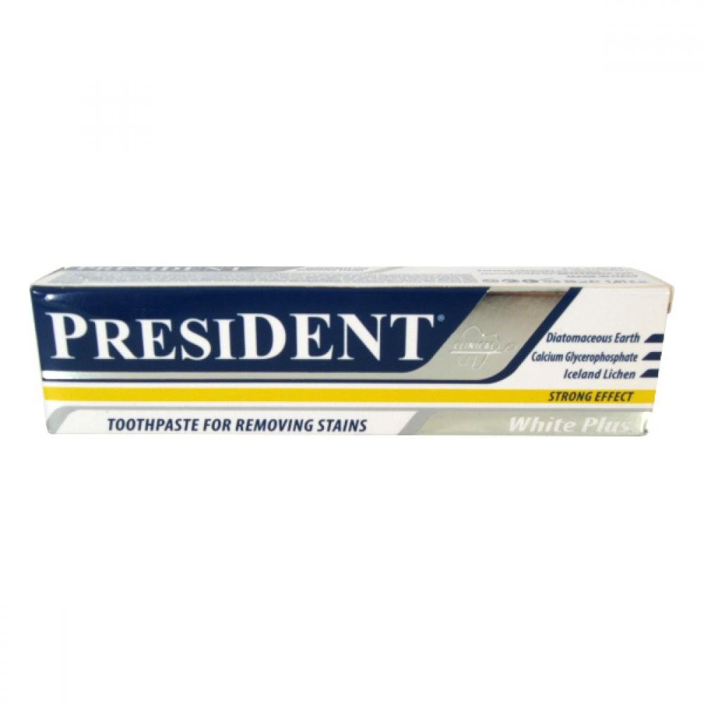 PresiDENT White Plus Intensivní zubní pasta bělicí 30ml