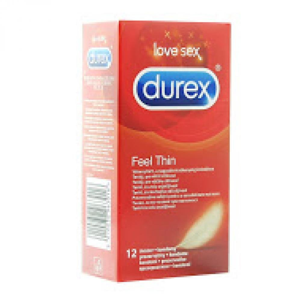 DUREX Prezervativ Feel Thin 12 kusů
