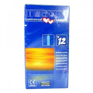 Prezervativ Universal condoms 12 ks