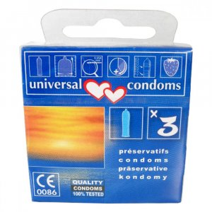 Prezervativ Universal condoms 3 ks