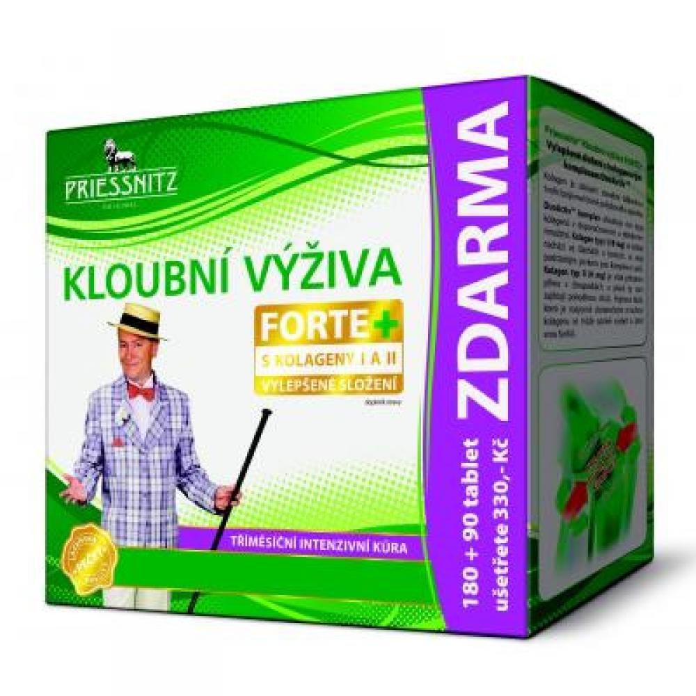 PRIESSNITZ Kloubní výživa Forte + kolageny 180 + 90 tablet ZDARMA