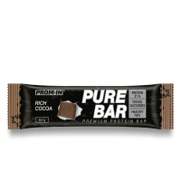 PROM-IN Essential Pure bar proteinová tyčinka natural kakao 65 g