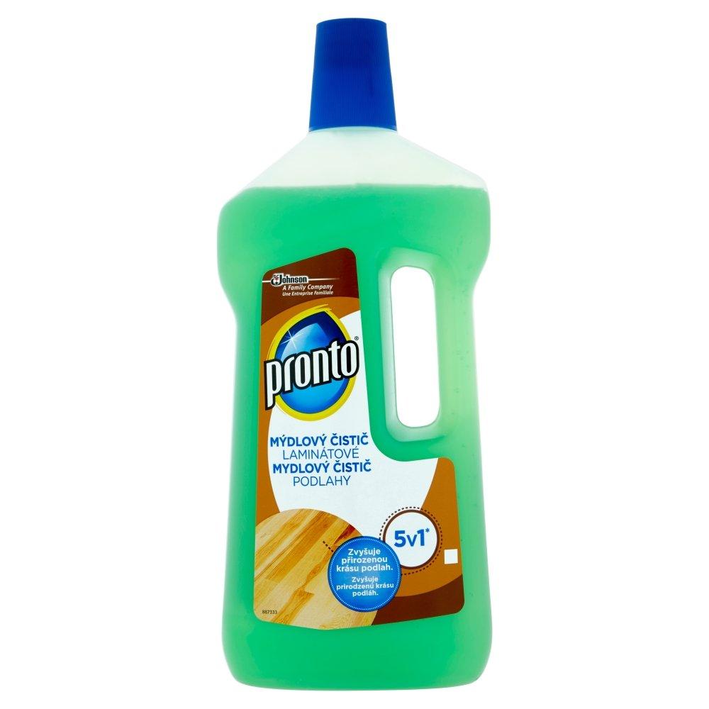 PRONTO 5v1 mýdlový čistič na laminát 750 ml