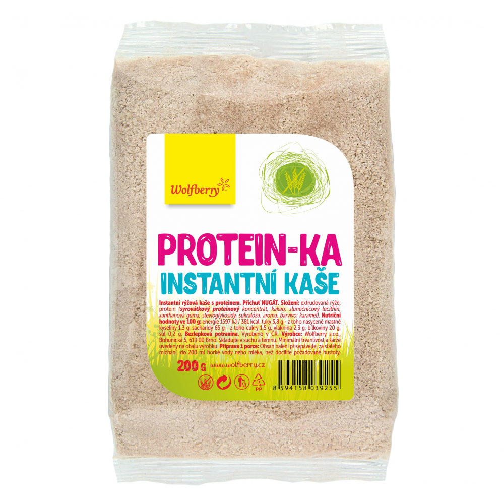WOLFBERRY Protein-ka instantní kaše 200 g