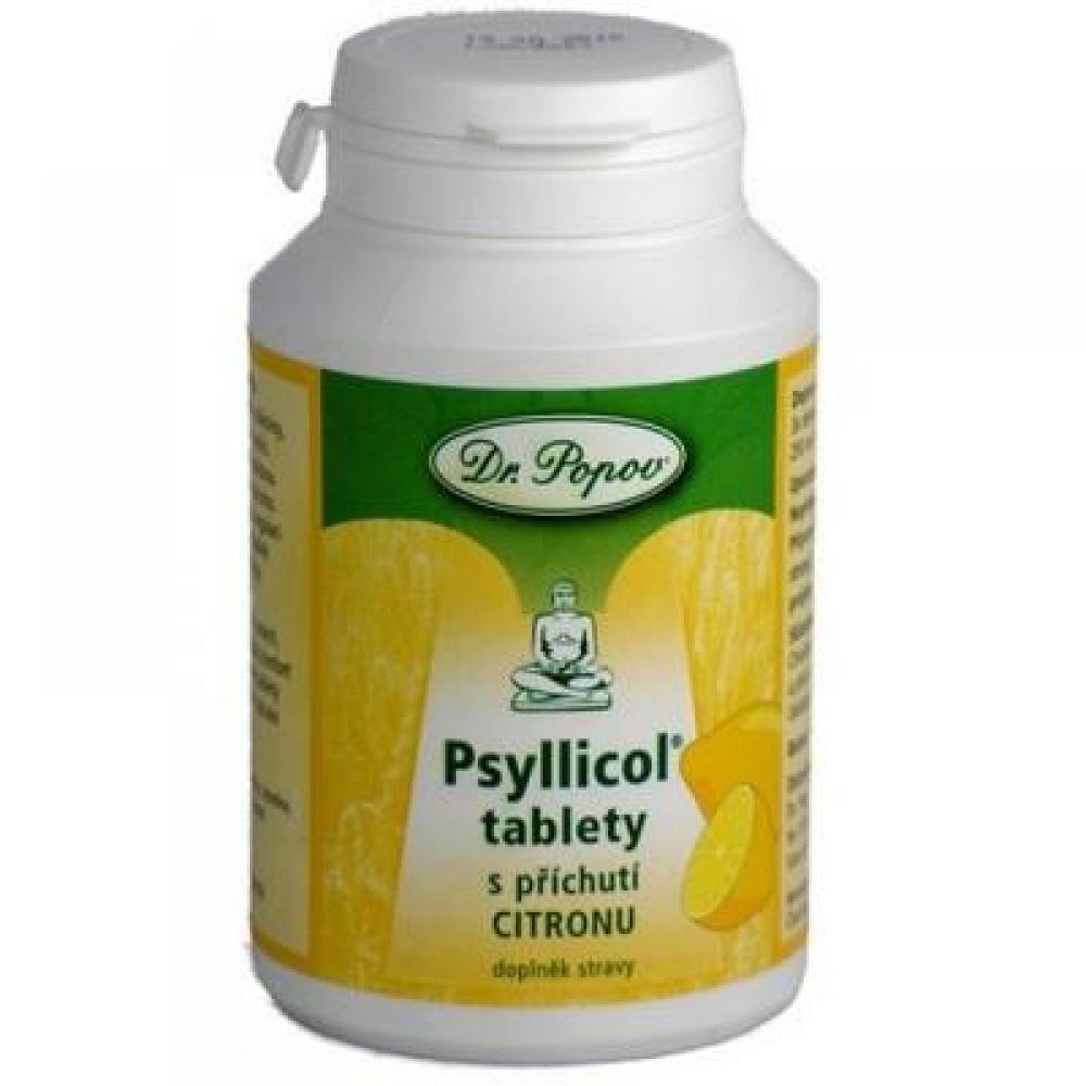 DR. POPOV Psyllicol citron 180 tablet