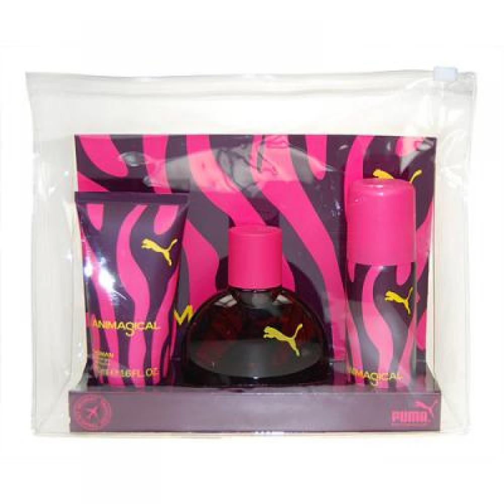 Puma Animagical Toaletní voda 40ml Edt 40ml + 50ml sprchový gel + 50ml deodorant