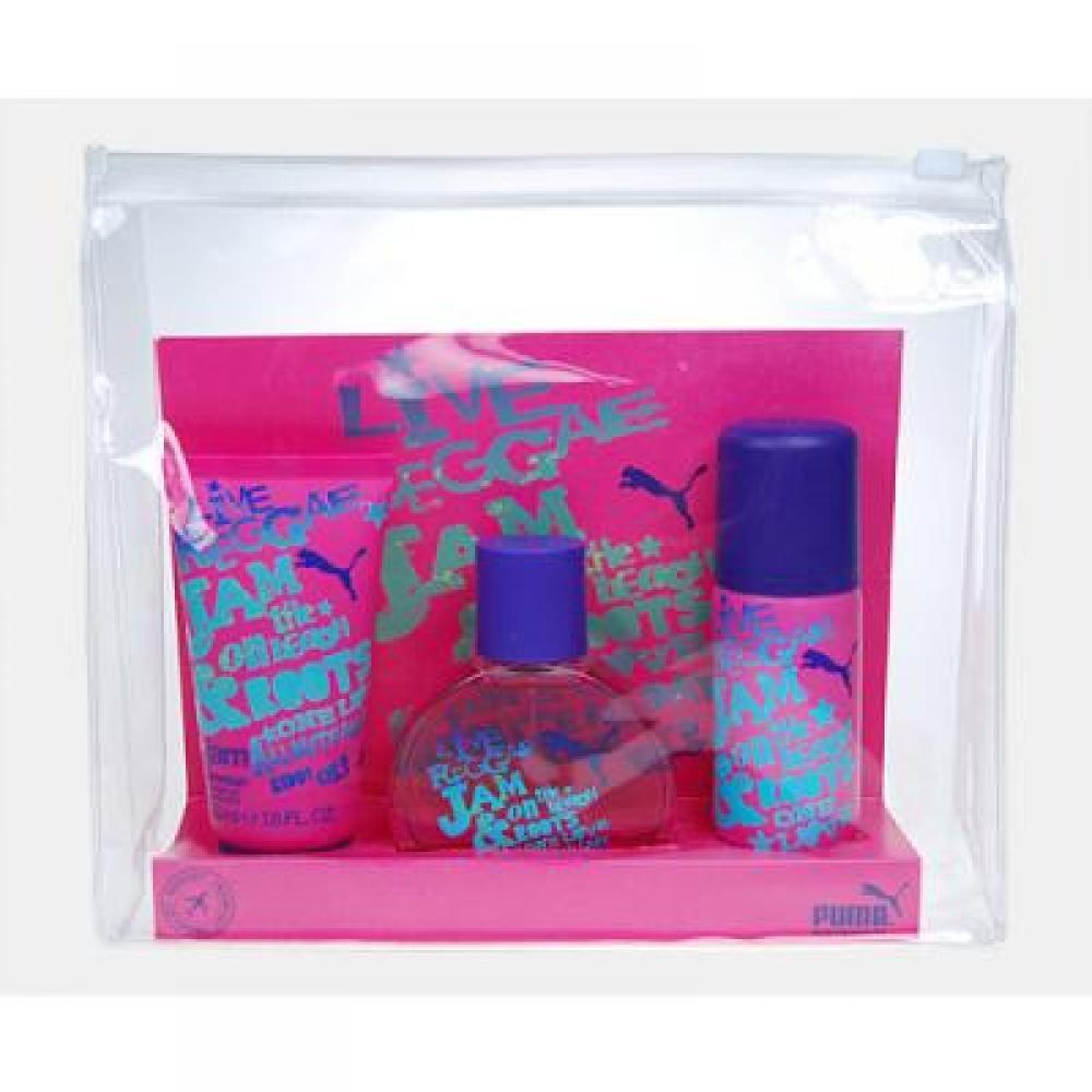 Puma Jam Woman Toaletní voda 40ml Edt 40ml + 50ml sprchový gel + 50ml deodorant
