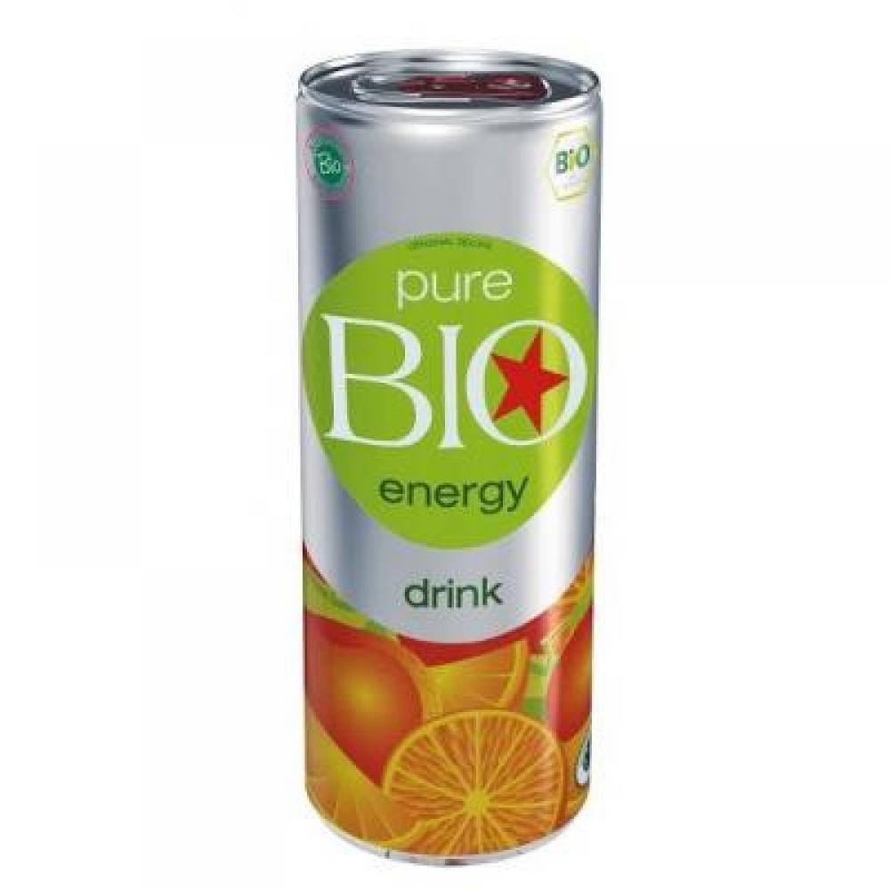 PURE BIO Energy drink 250 ml