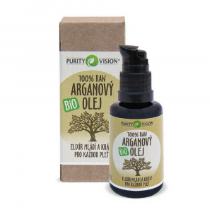 PURITY VISION Raw Bio Arganový olej 30 ml