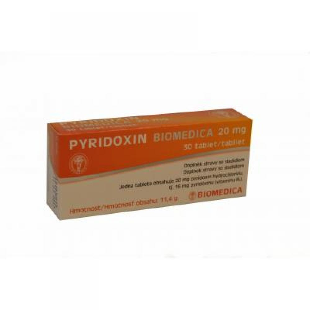Pyridoxin Biomedica 20 mg 30 tablet