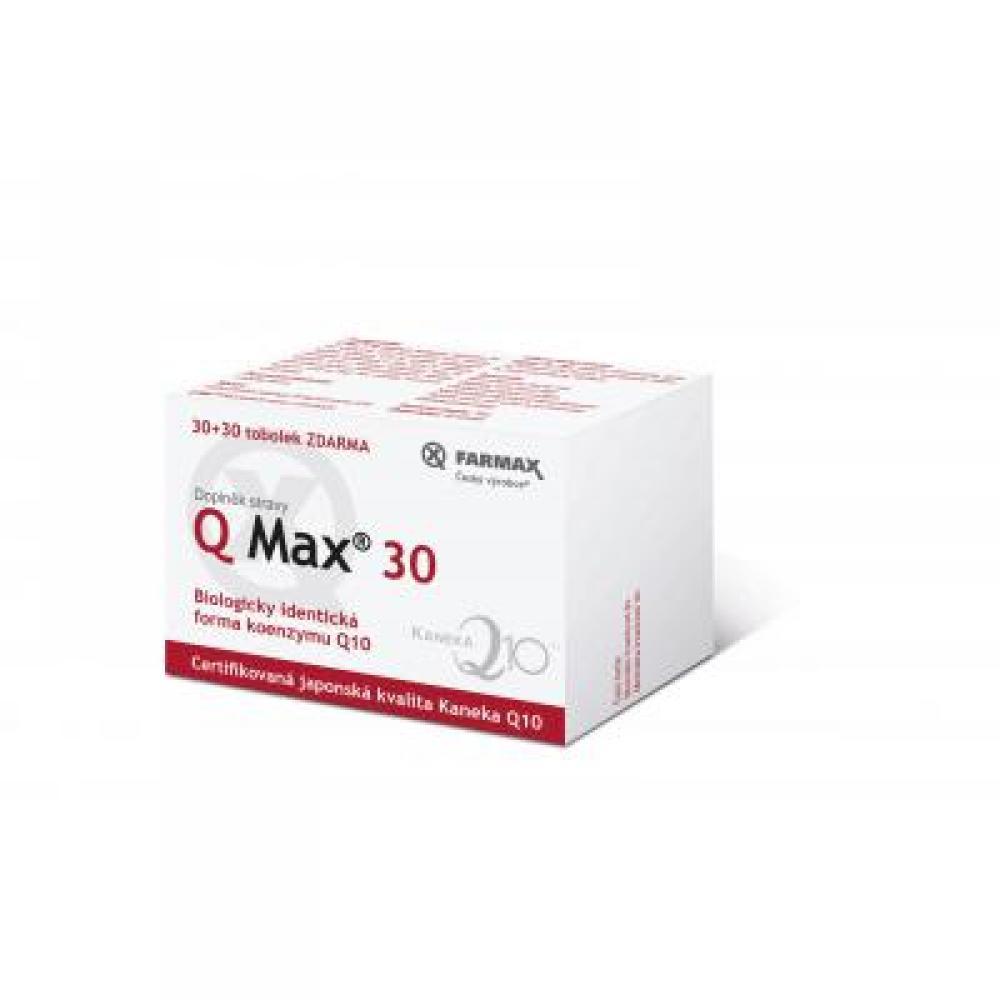 Q Max 30 mg 30 + 30 tobolek ZDARMA