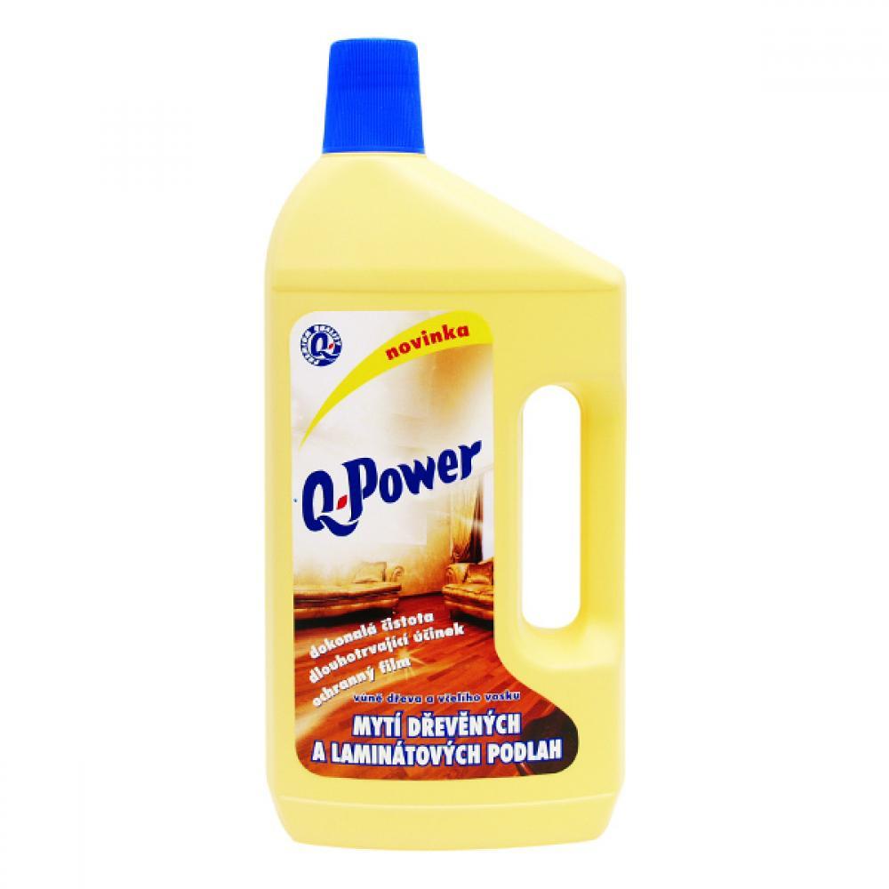 Q power čistič na dřevo, lamino 1l