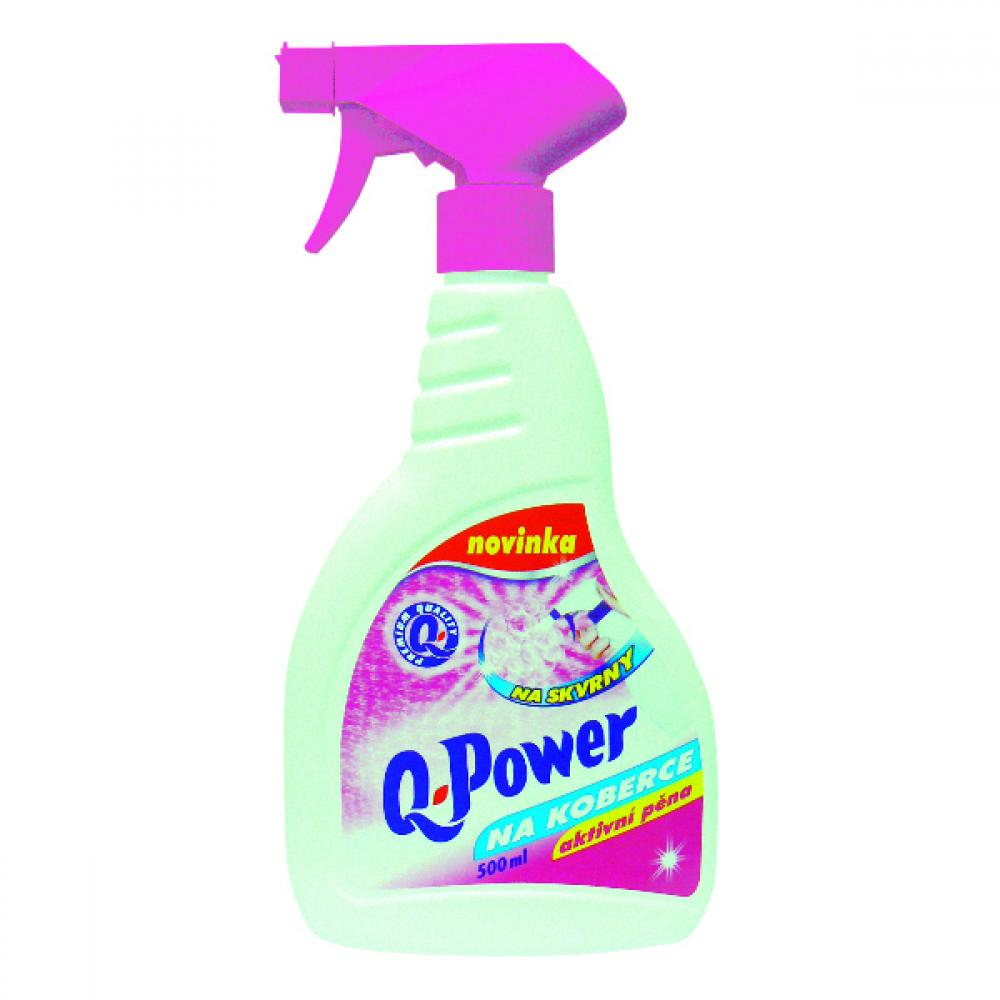 Q power čistič na koberce, 500ml