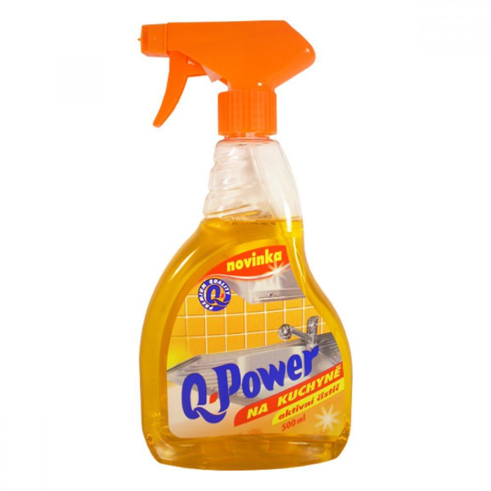 Q power čistič na kuchyně, 500ml