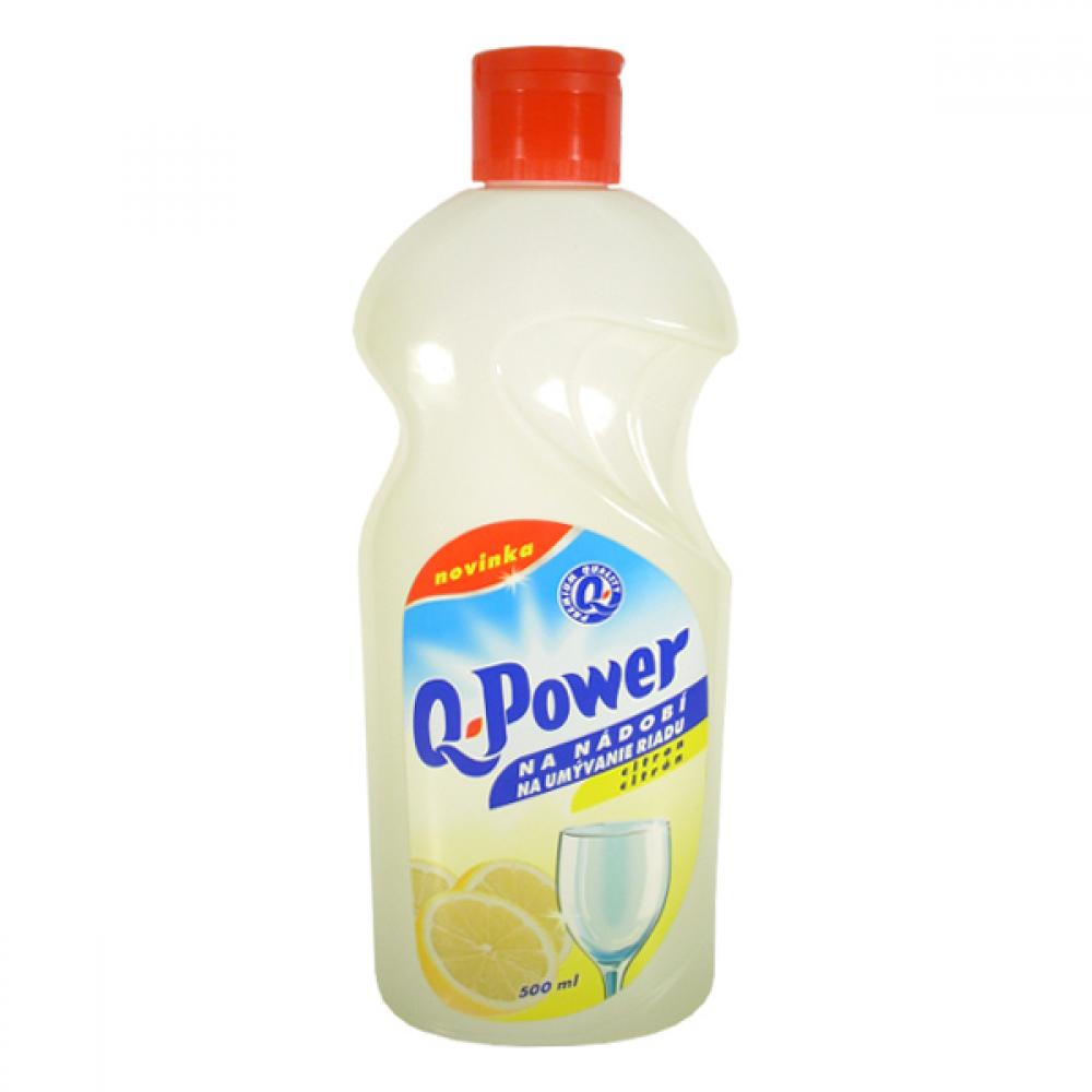 Q power na nádobí 500ml citron