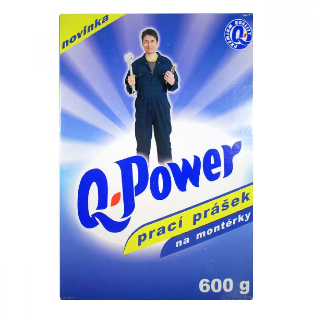 Q power prací prášek na montérky 600g