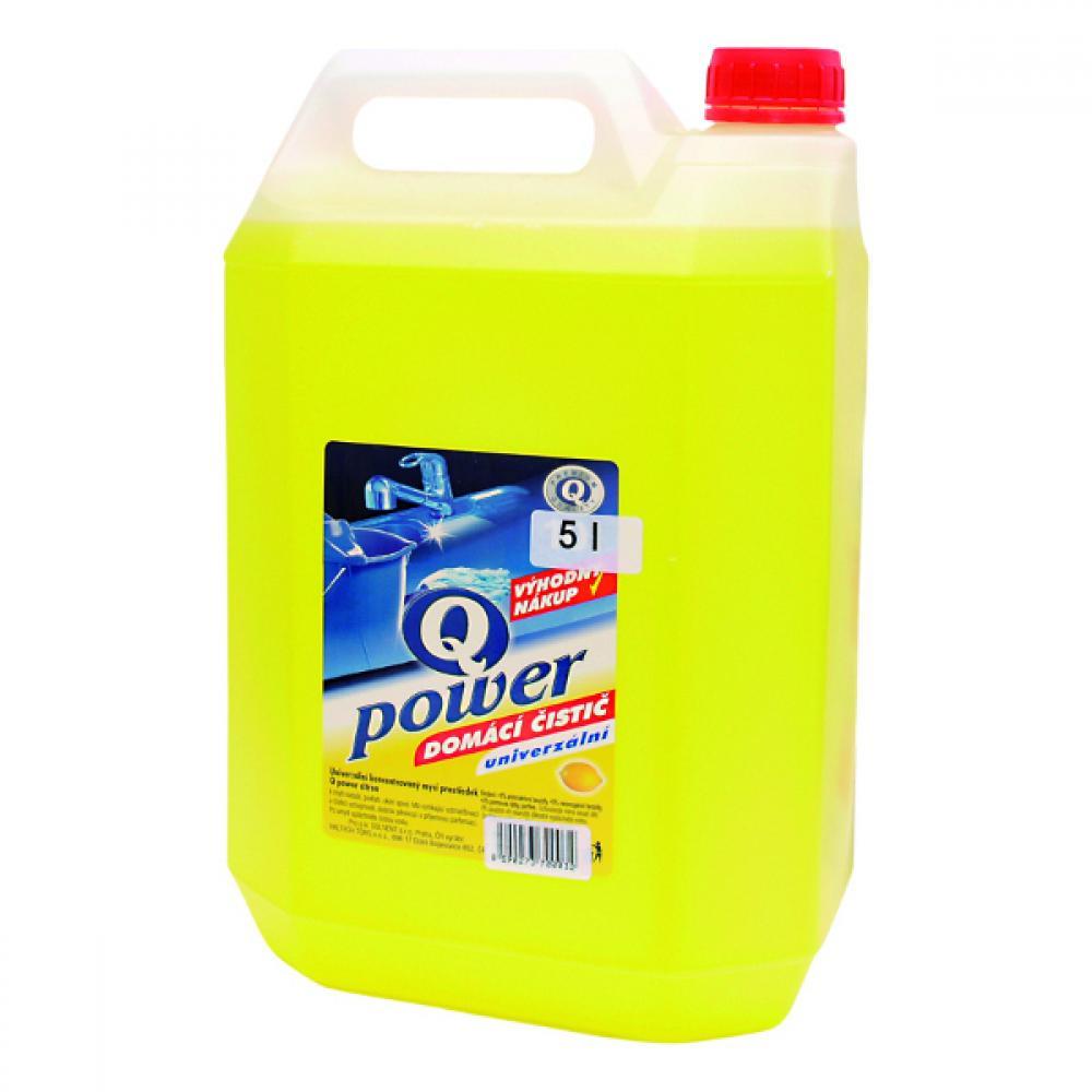 Q power univerzální čistič 5l citron vt