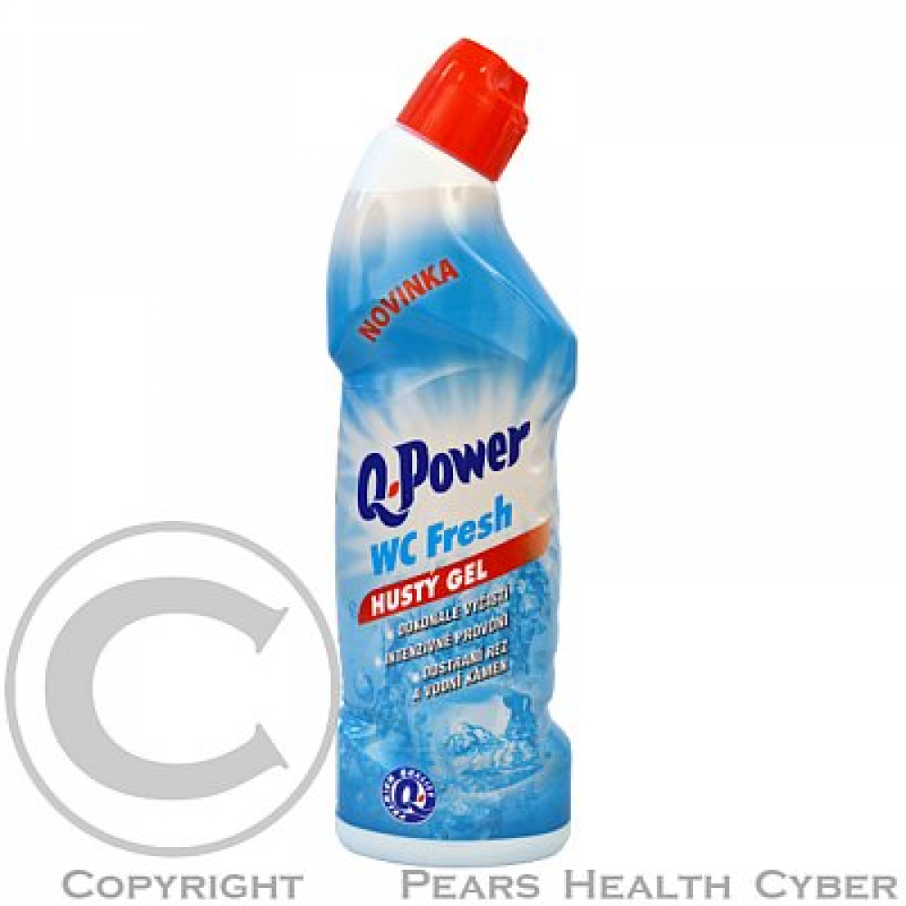 Q power wc čistič 750ml aqua/fresh