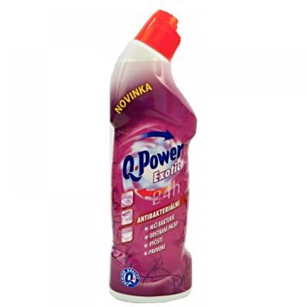 Q POWER WC čistič Exotic 750 ml