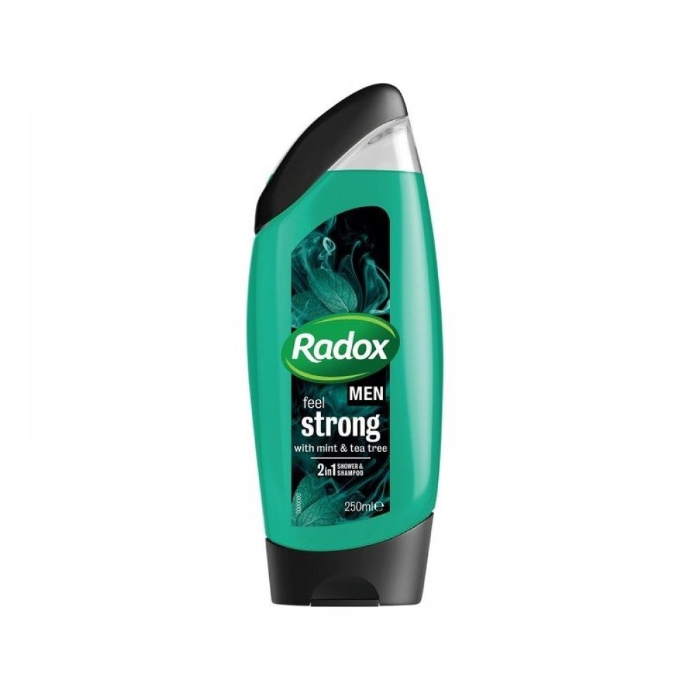 RADOX Men Mint + Tea Tree sprchový gel 250 ml