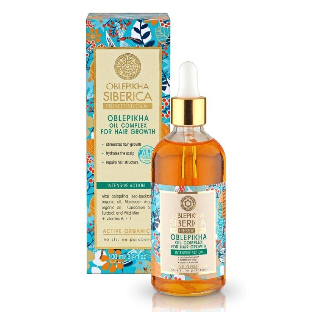 NATURA SIBERICA Rakytníkový olej pro růst vlasů 100 ml