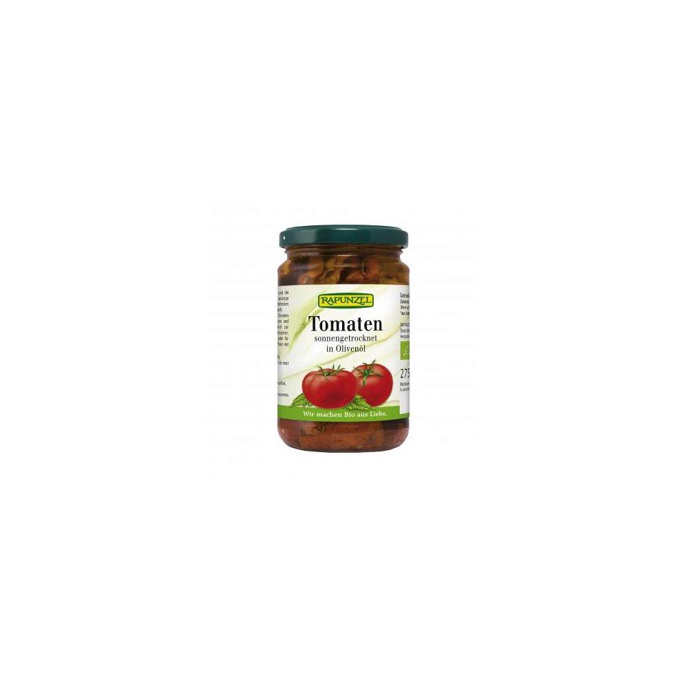 RAPUNZEL Sušená rajčata v extra panenském olivovém oleji BIO 275 g