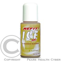 Refit Ice gel roll-on s kostivalem 80 ml hnědý