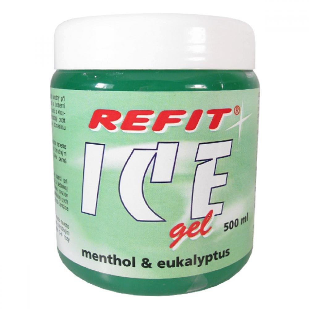 Refit Ice masážní gel s eukalyptem 500 ml zelený