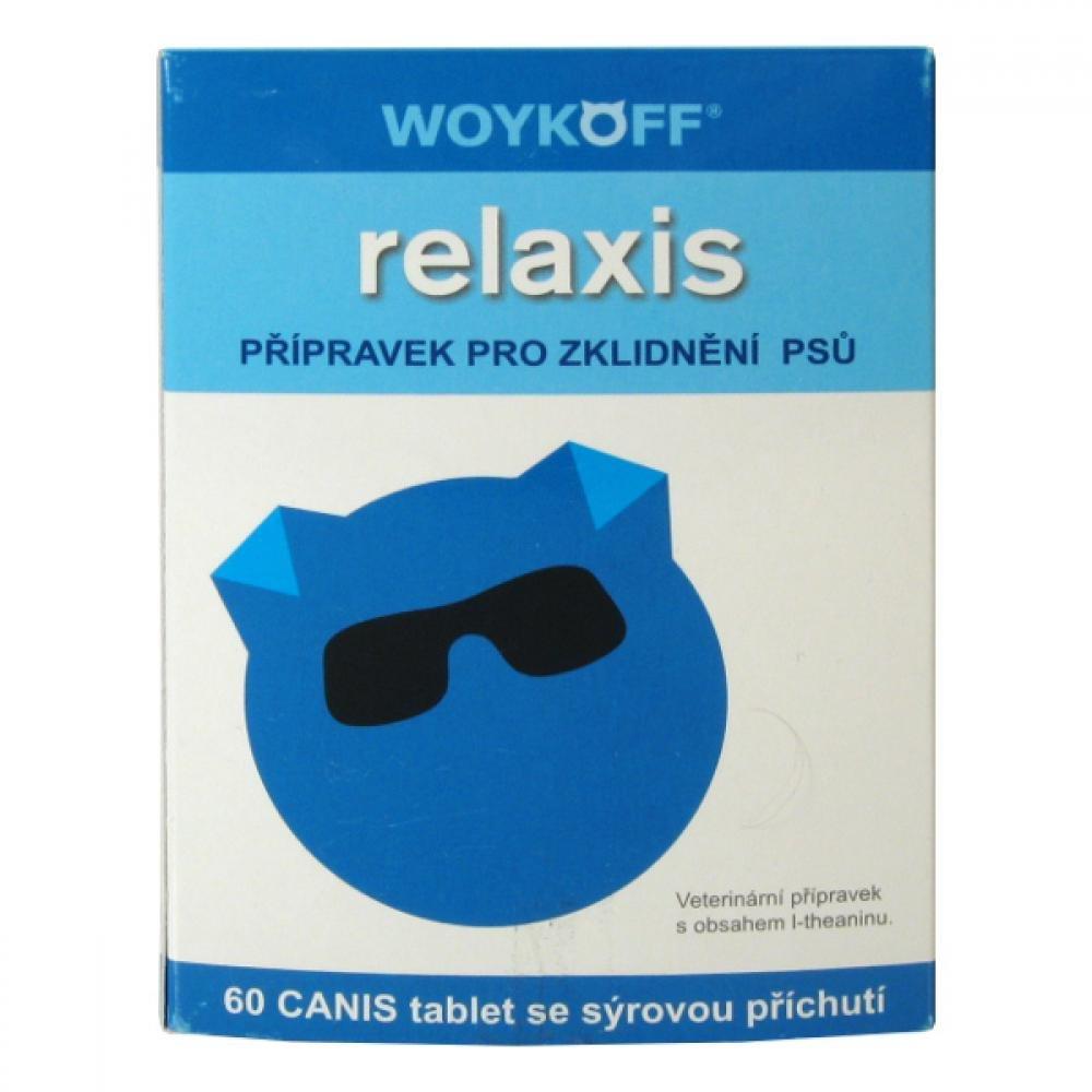 Relaxis CANIS (syrová příchuť) tbl.60