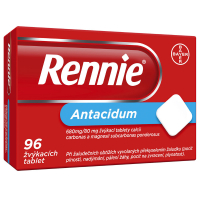 RENNIE® 96 žvýkacích tablet