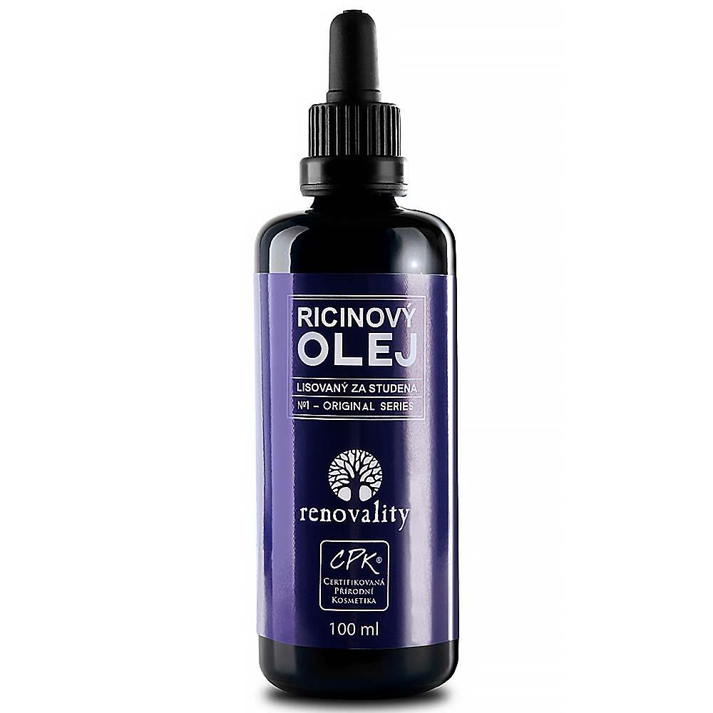 RENOVALITY Ricinový olej 100 ml