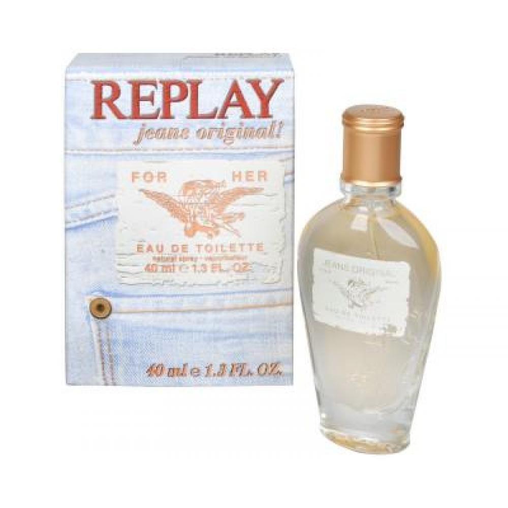 Replay Jeans Original For Her - toaletní voda s rozprašovačem 20 ml