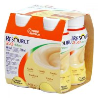 RESOURCE 2,0 kcal Fibre Vanilka 4x200 ml