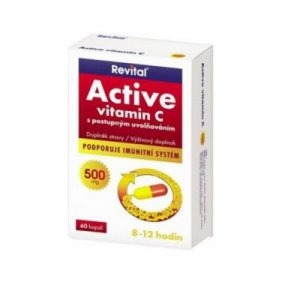 Revital Active vitamin C 500 mg 60 tablet : Výprodej