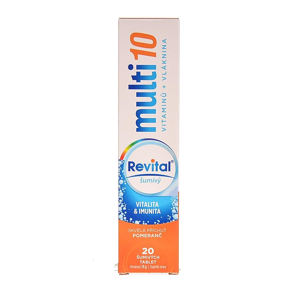 VITAR Revital Multi Pomeranč šumivé tablety 20 ks