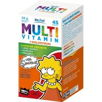 REVITAL The Simpsons Multivitamin + kolostrum 45 tablet