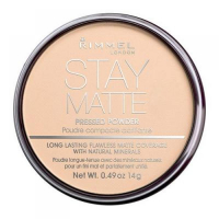 Rimmel London Stay Matte Long Lasting Pressed Powder 14g 001 Transparent