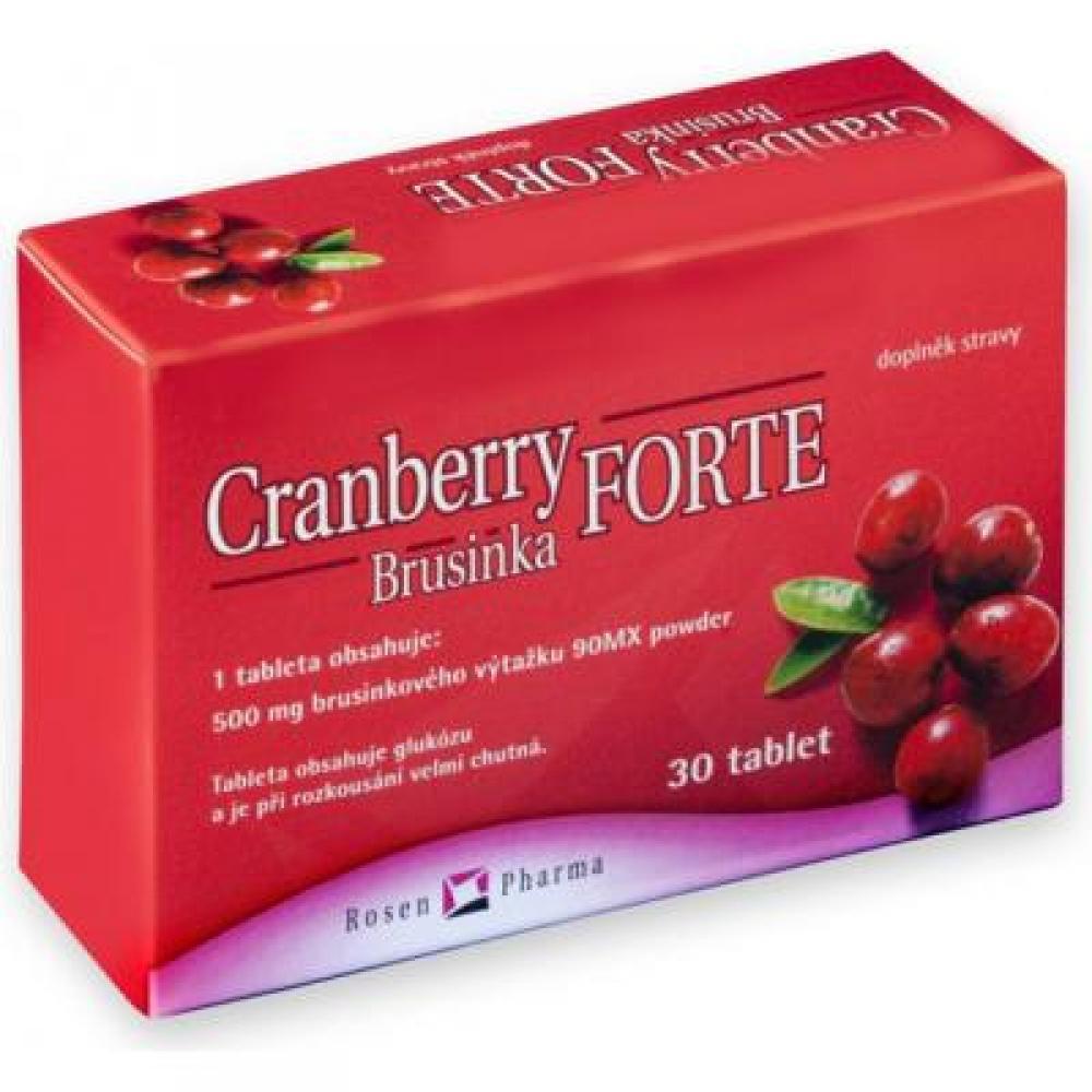 Rosen Cranberry Brusinka FORTE tbl.30
