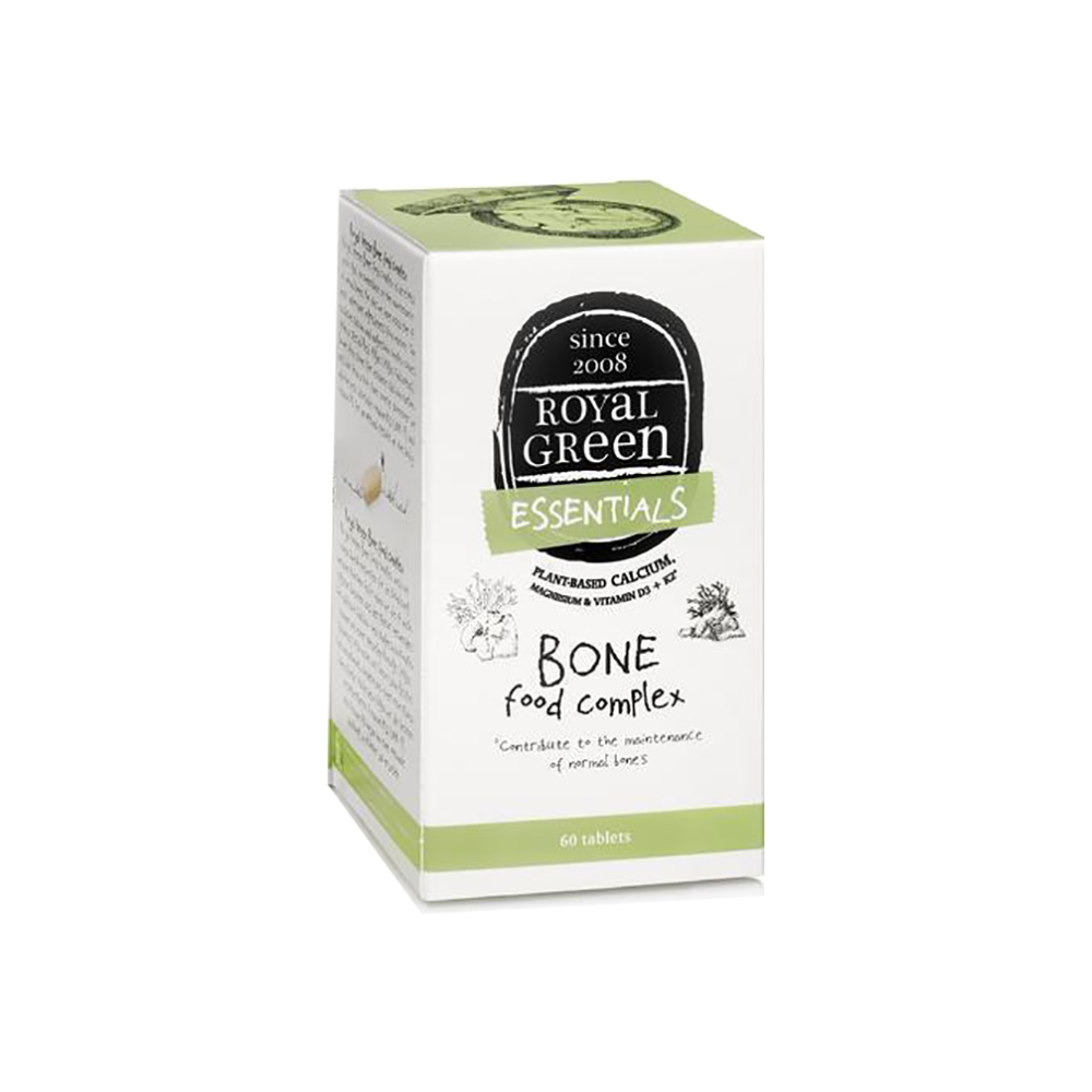 ROYAL GREEN Bio Komplex pro zdravé kosti 60 kapslí